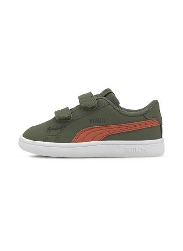 Puma Bebek Ayakkabı Smash V2 Buck 36518420 Yeşil